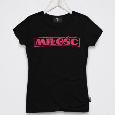 """T-Shirt Damski """"Miłość"""""""
