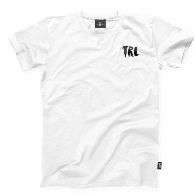 """T-Shirt """"TRL"""" Takie Rzeczy Label      Biało/Czarny"""