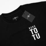 """T-Shirt """"KęKę – ToTu"""" Czarno/Biały"""